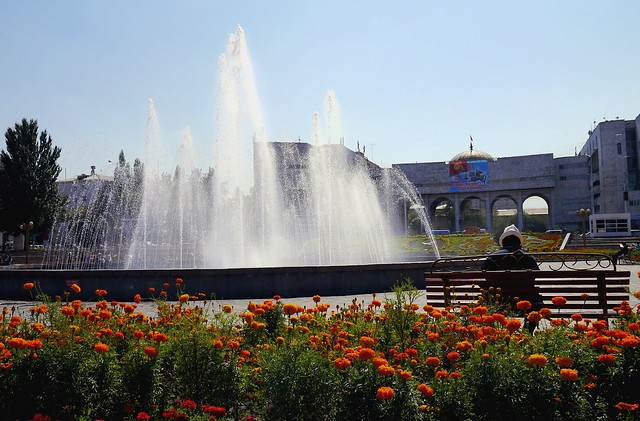 Hat and Fountain