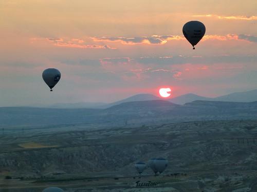 Turquie - jour 20 - Cappadoce, dans les airs et sous terre - 028 - Cappadoce en ballon
