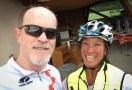 Biking in Lausanne with Vivian