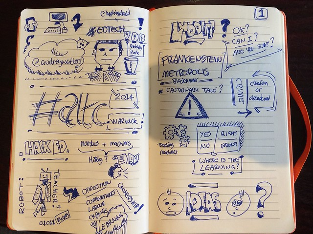 Audrey Watters Keynote #ALTC: Ed Tech, Frankenstein's Monster, and Teacher Machines - page 1
