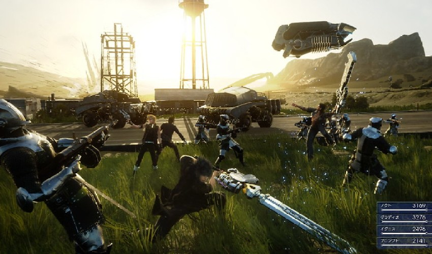 Hajime Tabata Talks About Final Fantasy XV's Weather, Combat & More 2