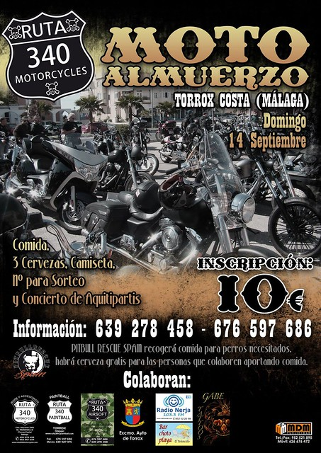 Moto Almuerzo - Torox Costa (Málaga)