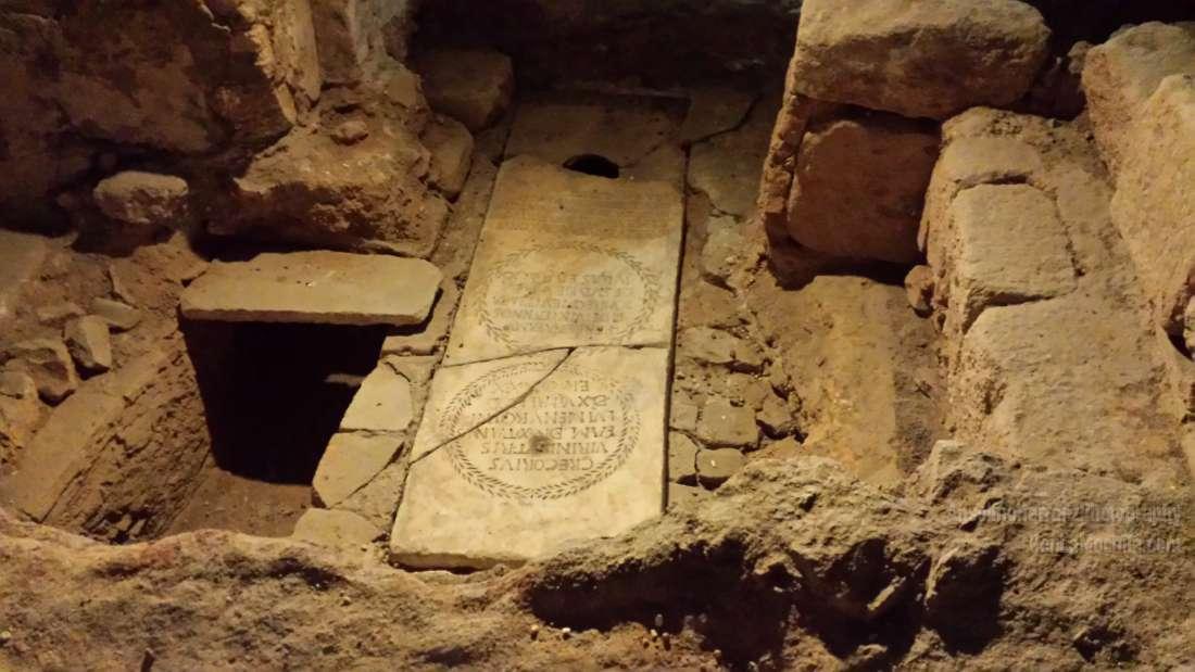 Catacumbas de Santa Eulalia - Mérida - Badajoz