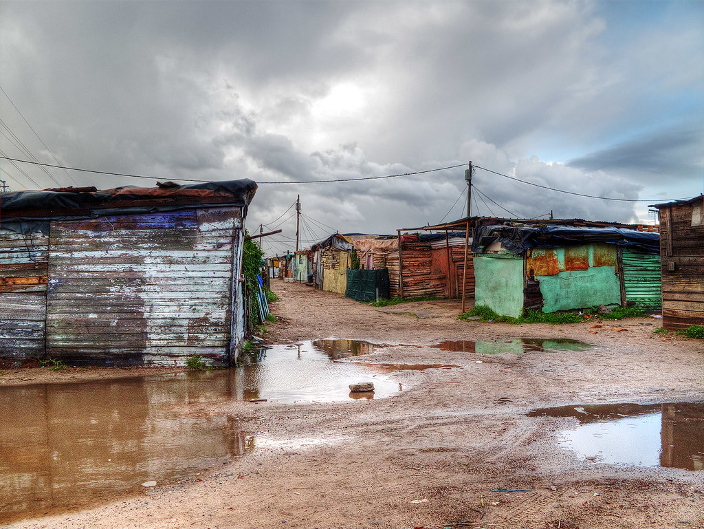 Langa Township, Cape Town, South Africa.