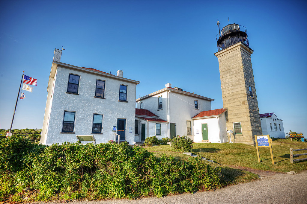 Beavertail Lighthouse and Museum.