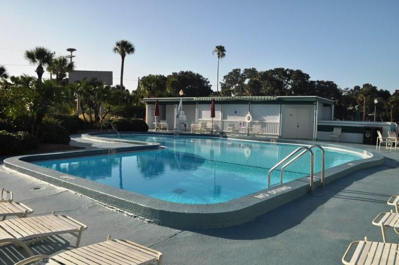 Pool at the Best Western Plus Yacht Harbor Inn, Dunedin, Fla., Aug. 2014