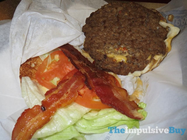 Hardee's and Carl's Jr.'s All-Natural Budweiser Beer Cheese Bacon Burger 3