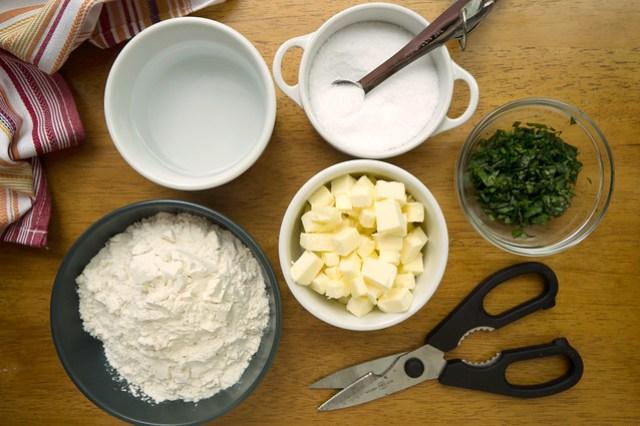 herbed pate brisee ingredients