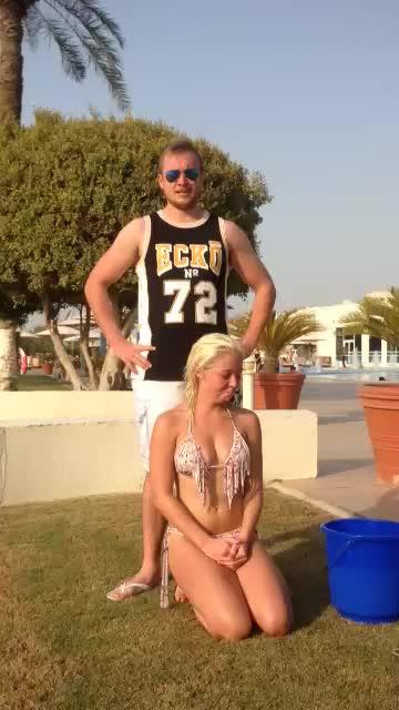 Ice Bucket Challenge @ Marriott Doha