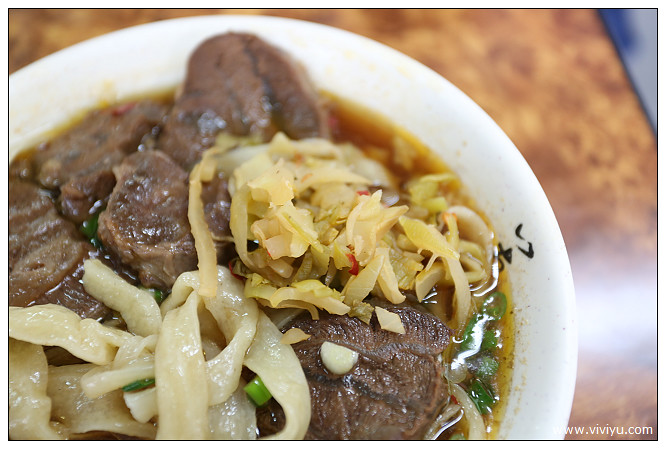 信維市場,台北,大安,小吃,牛肉麵刀切麵,王記刀切麵,美食 @VIVIYU小世界