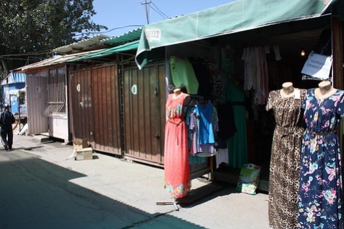 Container market in Karakol