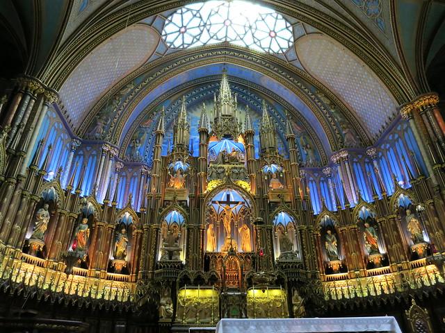 Notre Dame Basilica Interior