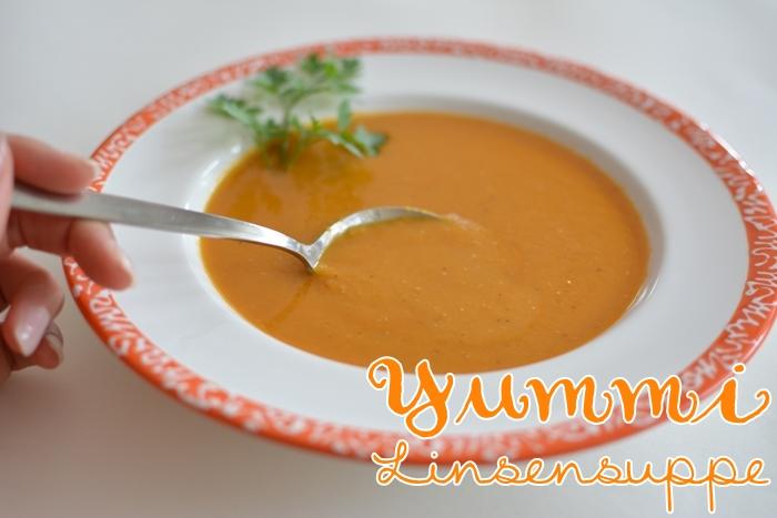 Rote Linsensuppe/Mercimek Çorbası