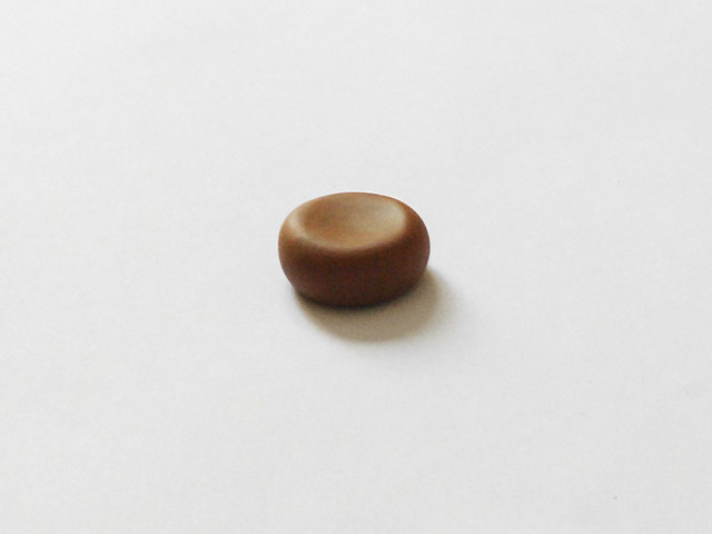 Polymer clay Donut Charm 03