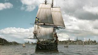 Imagen figurada del Vasa en su viaje inaugural de 1628 buque de guerra Vasa, viaje a Estocolmo 1628 - 14064205494 8157a207aa n - buque de guerra Vasa, viaje a Estocolmo 1628
