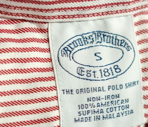 Brooks Brothersのシャツ