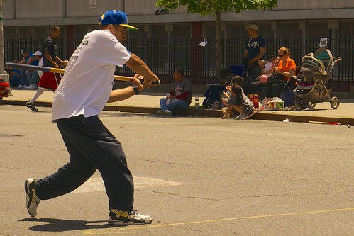 NYC Stickball, Jun 2014 - 44
