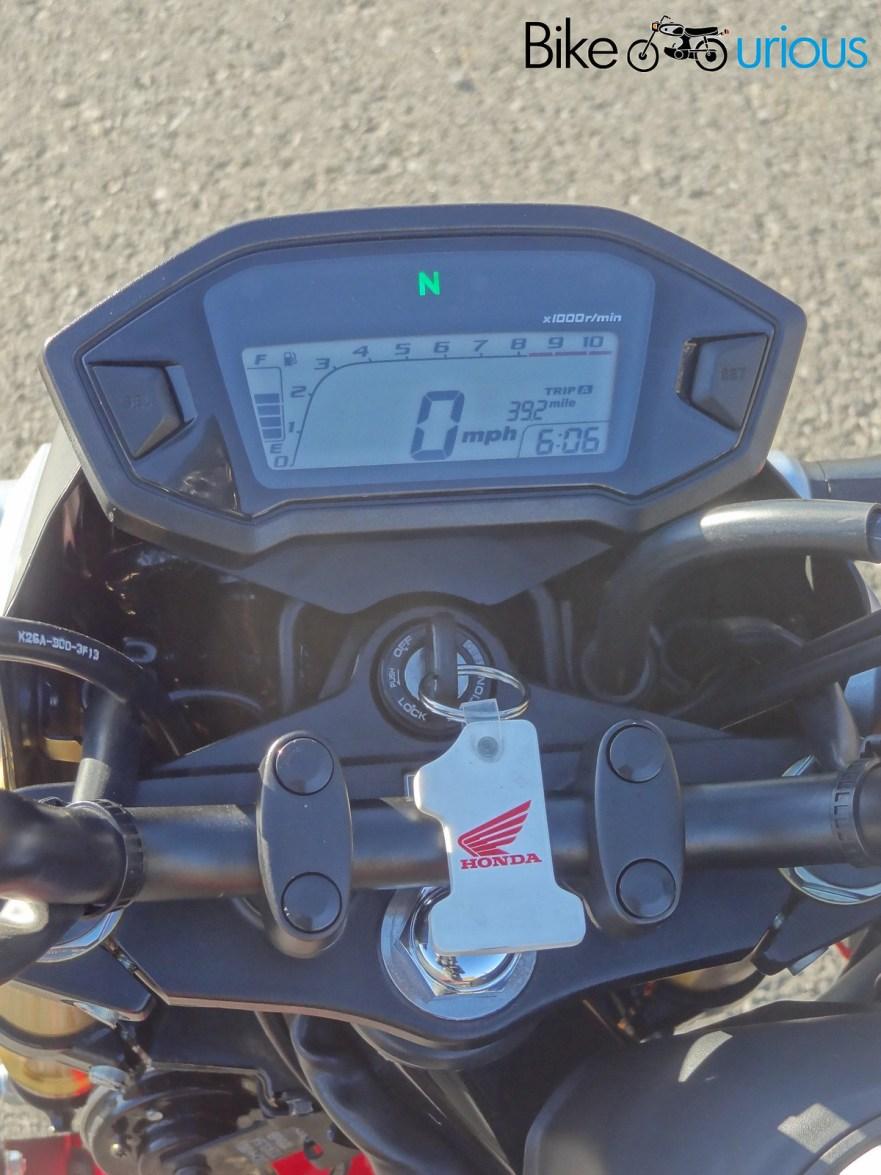 Honda Grom - Cockpit