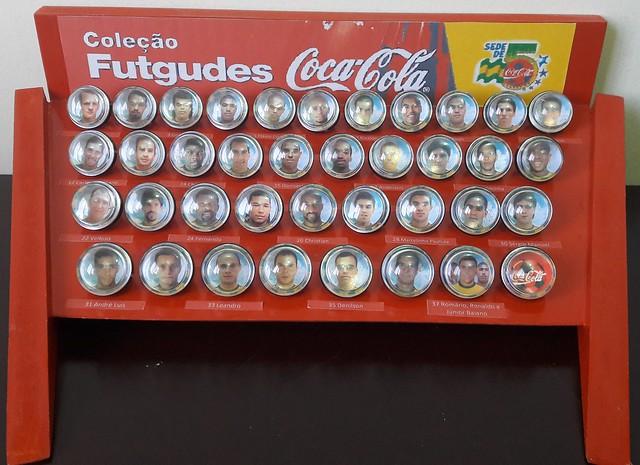 Coleção Futgudes Coca Cola Copa do Mundo 1998 | Museu da Copa