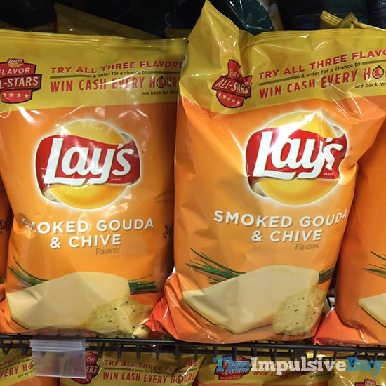Lay's Flavor All-Stars Smoked Gouda & Chive Potato Chips