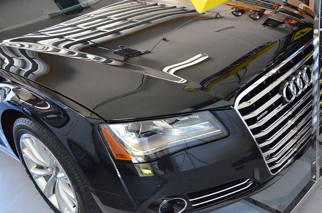 Audi A8L Detail