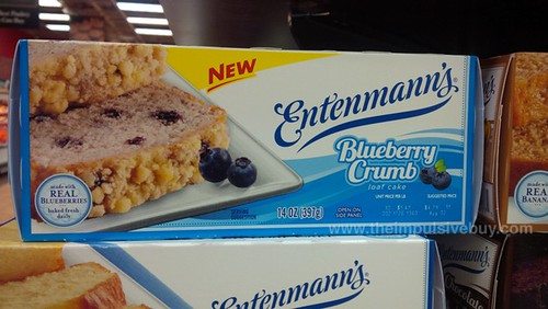 Entenmann's Blueberry Crumb Loaf Cake