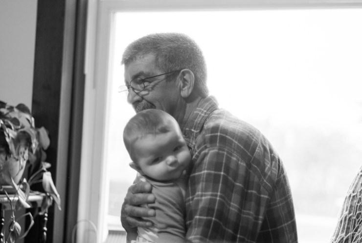 Papaw and Ezra