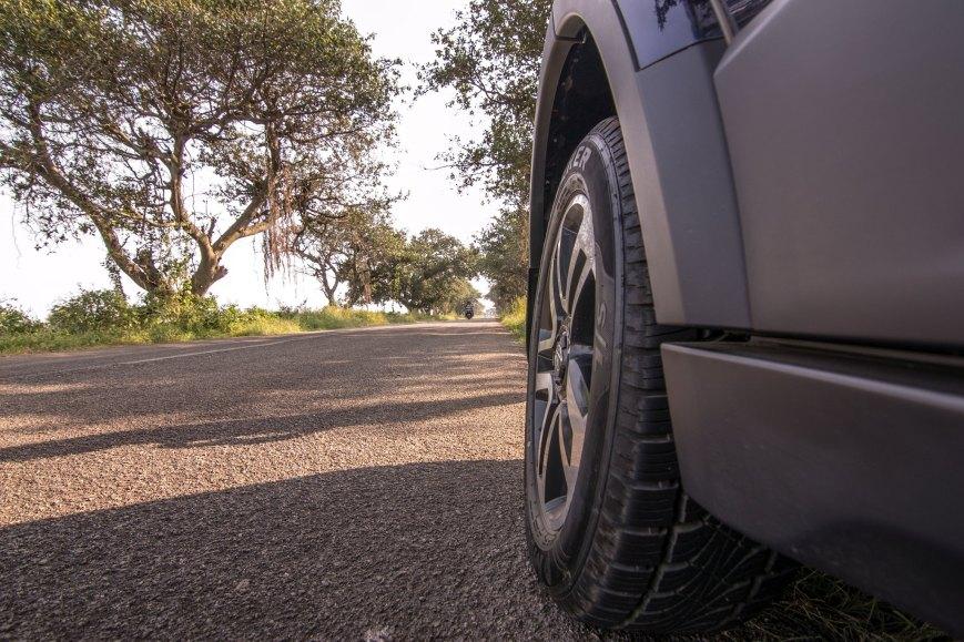 The segment first 19-inch tyres - Tata Hexa