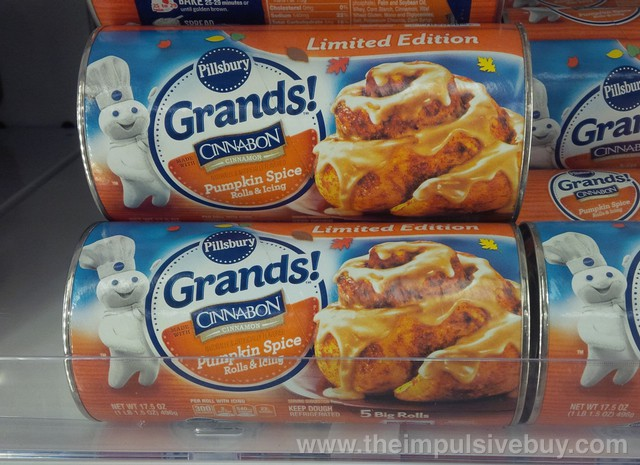 Pillsbury Limited Edition Cinnabon Pumpkin Spice Grands!