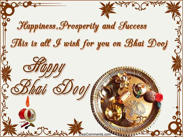 Happy bhai dooj 2017 wishes images sms quotes status here is the best and latest collection of happy bhai dooj bhau beej images photos scraps wallpapers dps m4hsunfo