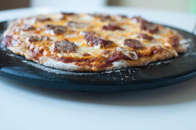 Meatball Pizza 1