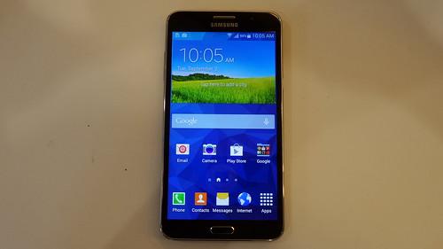 Samsung Galaxy Mega 2 ด้านหน้า