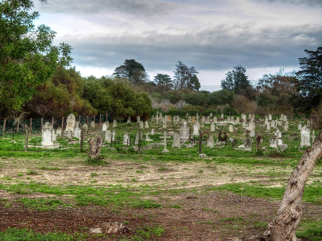 Leper Cemetery on Robben Island.