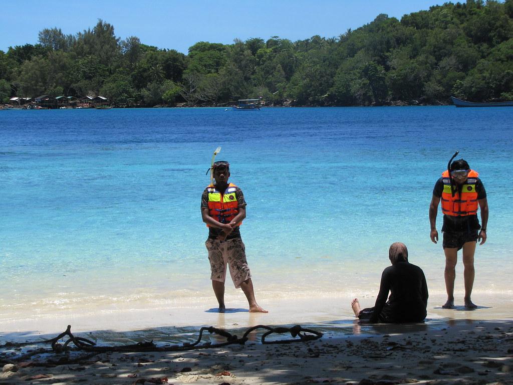 Snorkeling preparation