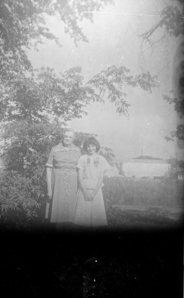 Found Film:  Kodak Brownie Target Six-20