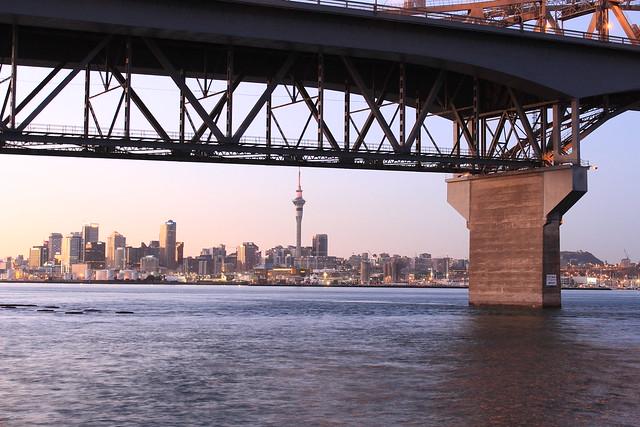 Auckland Harbour Bridge sunrise part 3