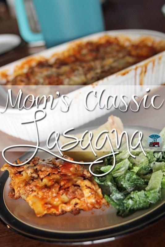 Mom's Classic Lasagna