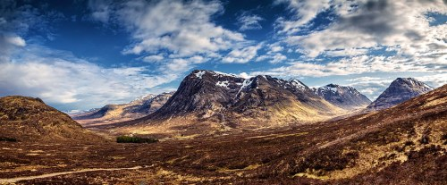 Glencoe from Devils Staircase