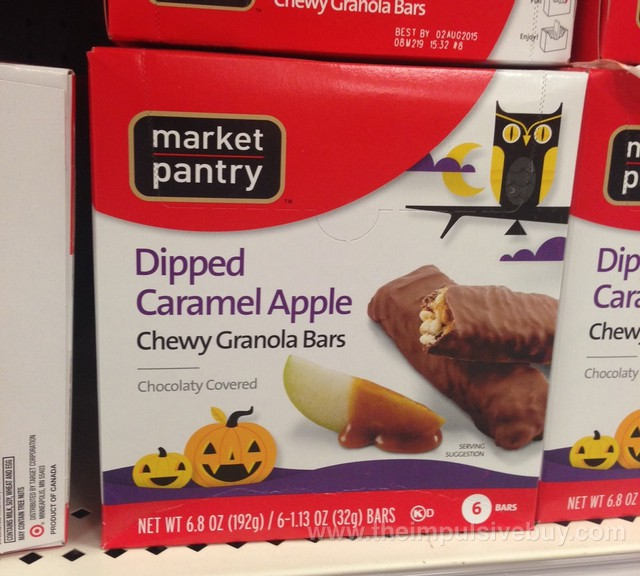 Market Pantry Dipped Caramel Apple Chewy Granola Bars