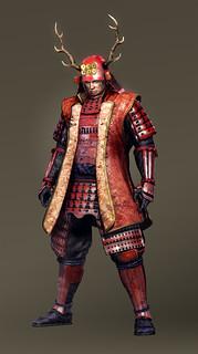 真田幸村鎧装備一式 日本一の兵の鎧