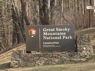 Catalochee Valley Sign