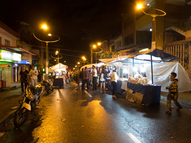 Castilla street market