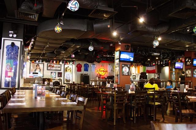 Menu At Hard Rock Cafe Kuala Lumpur