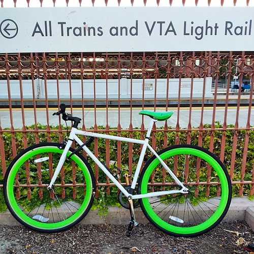 All trains and VTA light rail  #cycling #sanjose