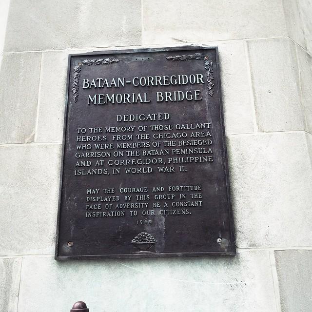 Bataan-Corregidor Memorial Bridge sign