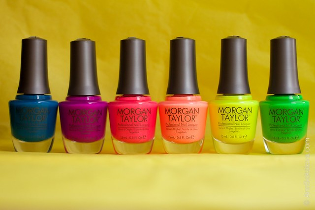 Morgan Taylor Neon Lights summer 2014 collection