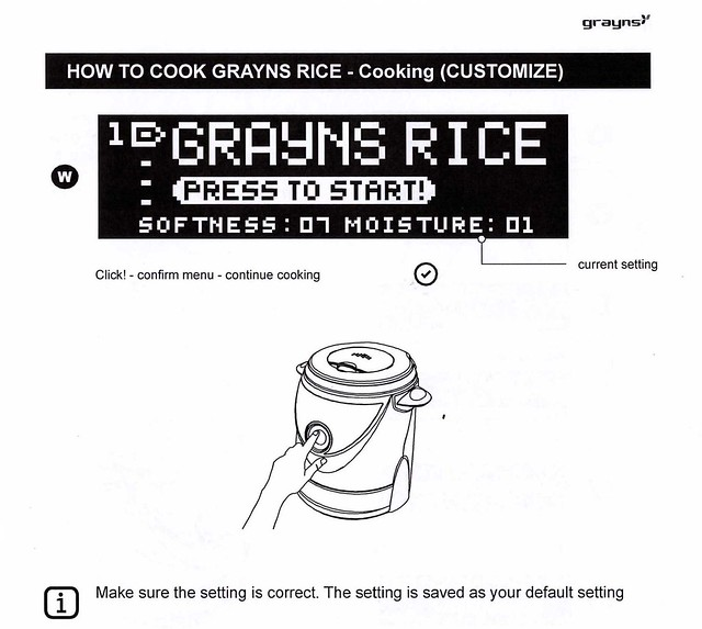 Grayns rice cooker (Malaysia) – Review, Price, Demo