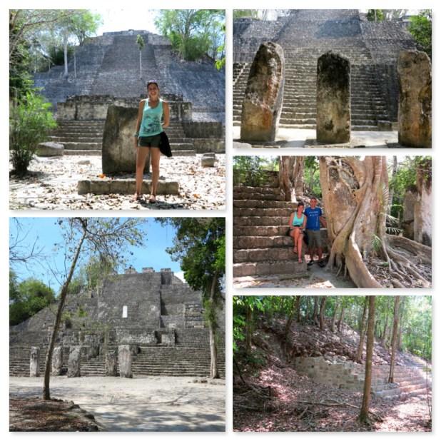 Zona arqueologica Calakmul Mexico