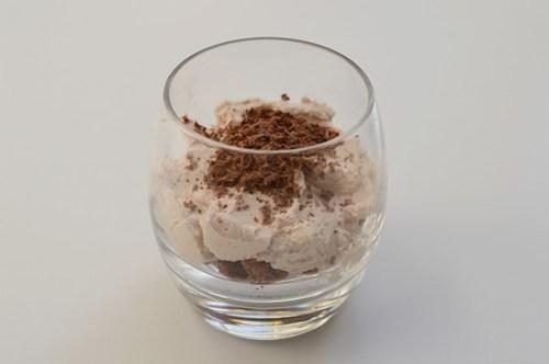Lúcuma coconut mousse