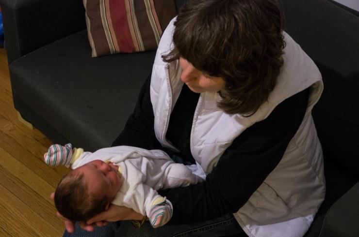 Grandma meets Ezra